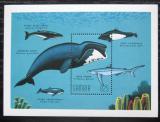 Poštovní známka Gambie 1995 Velké ryby Mi# Block 275 Kat 10€