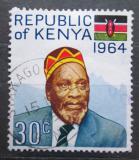 Poštovní známka Keňa 1964 Prezident Johnstone Kamau Ngengi Mi# 16