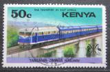 Poštovní známka Keňa 1976 Vlak Mi# 62