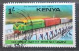 Poštovní známka Keňa 1976 Vlak Mi# 63