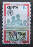 Poštovní známka Keňa 1981 Mezinárodní den potravin Mi# 202