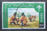 Poštovní známka Keňa 1982 Skautské hnutí, 75. výročí Mi# 214