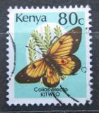 Poštovní známka Keňa 1988 Colias electo Mi# 419