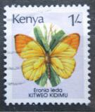 Poštovní známka Keňa 1988 Eronia leda Mi# 420