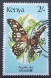 Poštovní známka Keňa 1988 Papilio rex Mi# 421
