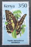 Poštovní známka Keňa 1988 Papilio demodocus Mi# 424