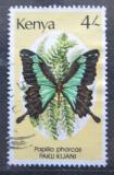 Poštovní známka Keňa 1988 Papilio phorcas Mi# 425