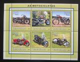 Poštovní známky Guinea-Bissau 2001 Motocykly Mi# 1761-66 Kat 9€