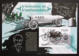 Poštovní známky Burundi 2012 Historické automobily neperf. Mi# 2888-91 B