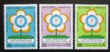 Poštovní známky Kuvajt 1986 Světový den zdraví Mi# 1102-04 Kat 8€