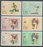 Poštovní známky Manáma 1969 Letní olympijské hry Mi# 346-51 Kat 6.50€