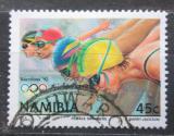 Poštovní známka Namíbie 1992 LOH Barcelona, plavání Mi# 729