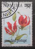Poštovní známka Namíbie 2000 Glorióza vznešená přetisk Mi# 1009