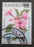 Poštovní známka Namíbie 2000 Adenium boehmianum přetisk Mi# 1011