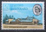 Poštovní známka Basutsko, Lesotho 1965 Vládní budova Mi# 94