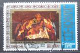 Poštovní známka Lesotho 1972 Vánoce, umění, Matthias Stomer Mi# 128
