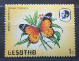 Poštovní známka Lesotho 1984 Danaus východní Mi# 442
