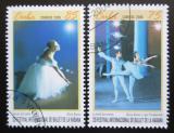 Poštovní známky Kuba 2006 Balet Mi# 4860-61