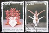 Poštovní známky Kuba 2002 Balet Mii# 4478-79 Kat 4€