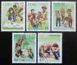 Poštovní známky Kuba 2002 Mladí pionýři Mi# 4414-18