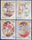 Poštovní známky Kuba 2000 Umění, folklór Mi# 4255-58