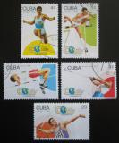 Poštovní známky Kuba 1992 MS v lehké atletice Mi# 3608-12