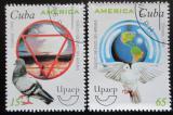 Poštovní známky Kuba 1999 Svět beze zbraní Mi# 4242-43