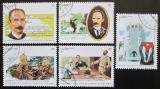 Poštovní známky Kuba 1995 José Martí Mi# 3817-21
