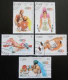 Poštovní známky Kuba 1993 Karibské hry Mi# 3711-15