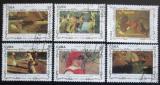Poštovní známky Kuba 1993 Umění, Joaquin Sorolla Mi# 3676-81
