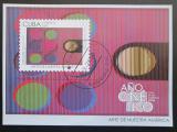 Poštovní známka Kuba 2009 Moderní umění Mi# Block 256