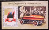 Poštovní známka Kuba 2010 Elektromobily Mi# Block 280