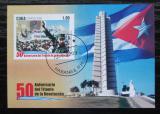 Poštovní známka Kuba 2009 Kubánská revoluce, 50. výročí Mi# Block 251