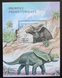 Poštovní známka Guinea 1997 Dinosauři Mi# Block 517