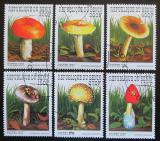 Poštovní známky Benin 1997 Houby Mi# 989-94