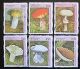 Poštovní známky Guinea 1996 Houby Mi# 1610-15