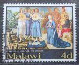 Poštovní známka Malawi 1968 Vánoce, umění Mi# 88