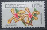 Poštovní známka Malawi 1969 Ansellia gigantea, orchidej Mi# 112