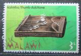 Poštovní známka Malawi 1973 Hudební nástroj Kalimba Mi# 203