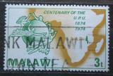 Poštovní známka Malawi 1974 UPU, 100. výročí Mi# 216