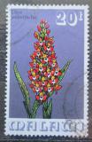 Poštovní známka Malawi 1975 Disa welwitschii, orchidej Mi# 248