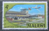 Poštovní známka Malawi 1977 Letiště Chileka Mi# 281
