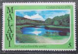 Poštovní známka Malawi 1979 Vánoce, krajina Mi# 336