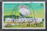 Poštovní známka Malawi 1981 Pozemní satelit Mi# 360