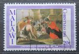 Poštovní známka Malawi 1981 Vánoce, umění, Louis le Nain Mi# 370