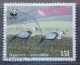Poštovní známka Malawi 1987 Jeřáb Mi# 478