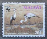 Poštovní známka Malawi 1987 Jeřáb Mi# 479