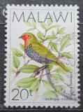 Poštovní známka Malawi 1988 Vločkovník zelenohřbetý Mi# 508