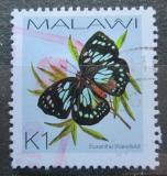 Poštovní známka Malawi 2002 Euxanthe wakefieldii Mi# 713
