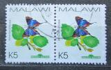 Poštovní známky Malawi 2002 Myrina silenus pár Mi# 716